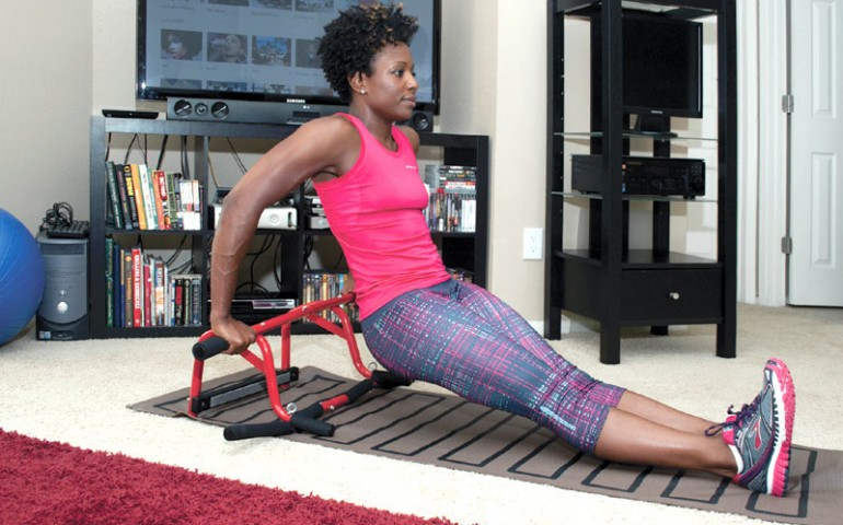 Set up a well equipped home gym for under upscale magazine