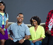 SPENDING 'FAMILY TIME' WITH OMAR GOODING AND ANGELL CONWELL