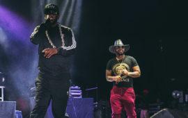 Dungeon Family (left) brings out Atlanta rapper Kilo Ali