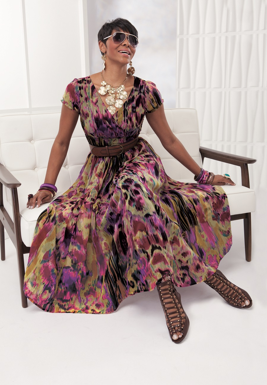 23b6c581c0c You will love strolling along any grand strand in this lovely dress. Photo  Credit  Ashro