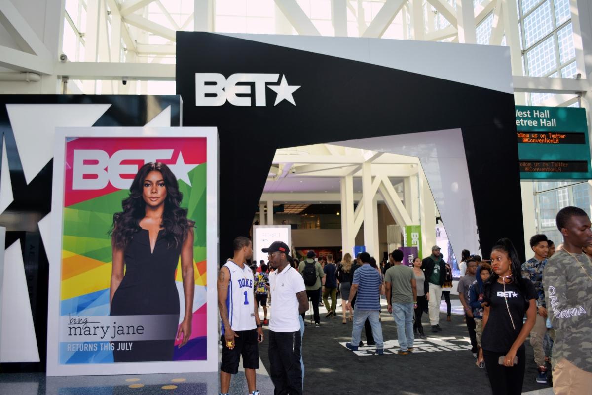 BET Experience Fan Fest inside