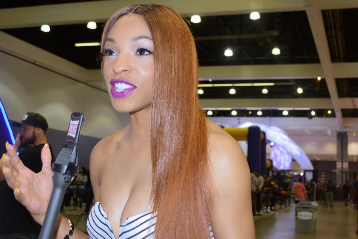 Jamila Mustafa BET Breaks host